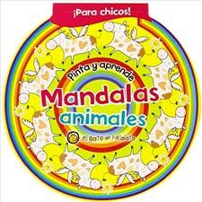 Libros para colorear MANDALAS DE ANIMALES PARA COLOREAR