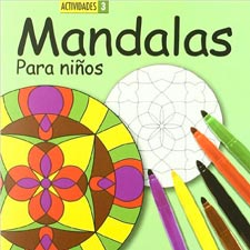 Libros para colorear MANDALAS PARA NIÑOS