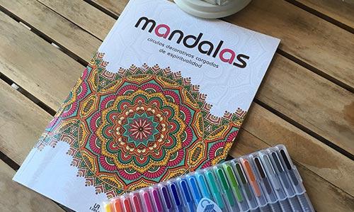 Consejos para empezar a colorear mandalas