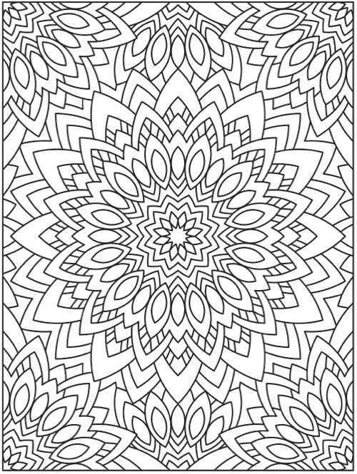 14 mejores libros para colorear para adultos - De Mandalas