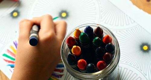 Beneficios de pintar mandalas en niños