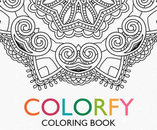 Colorfy aplicación para colorear mandalas con el iPad