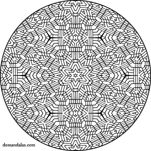 Mandala Para Imprimir Faciles on Coloring Pages For S