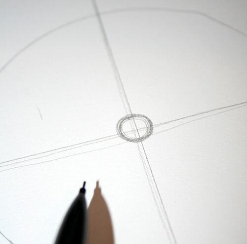 círculos para el diseño del mandala