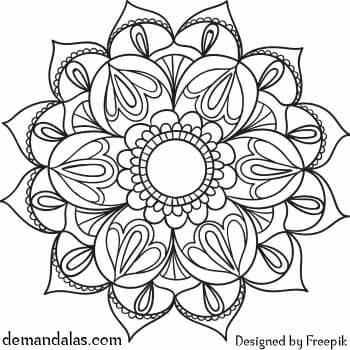 Mandala para Imprimir en PDF
